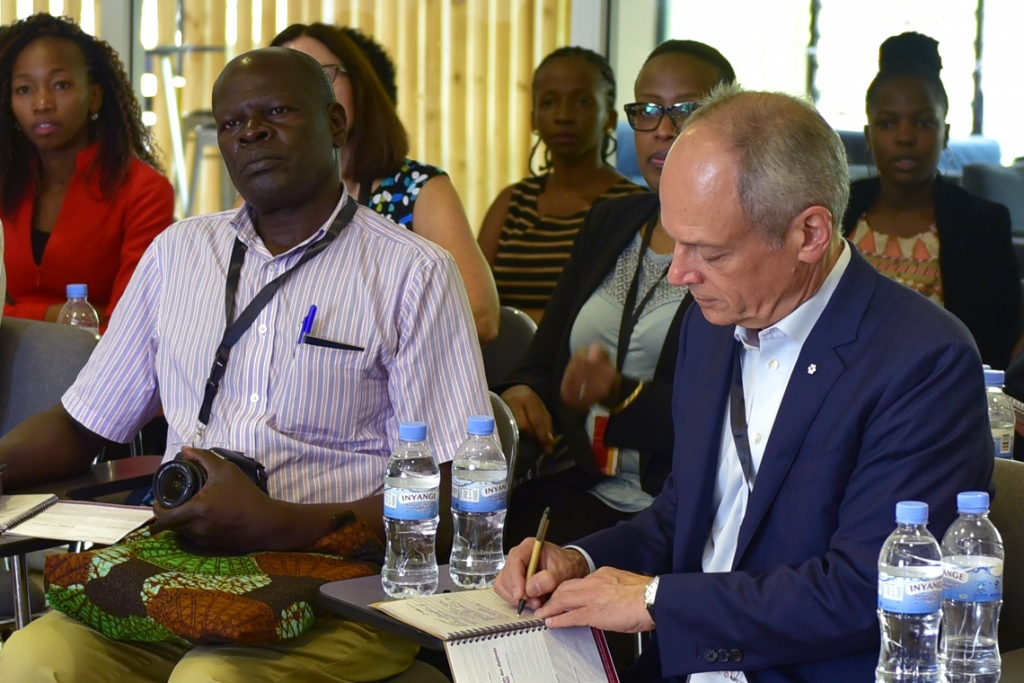 Strengthening international partnerships: U of T President Meric Gertler in Rwanda and Ethiopia