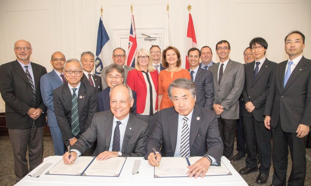 U of T attracts Fujitsu Laboratories R&D centre to Toronto