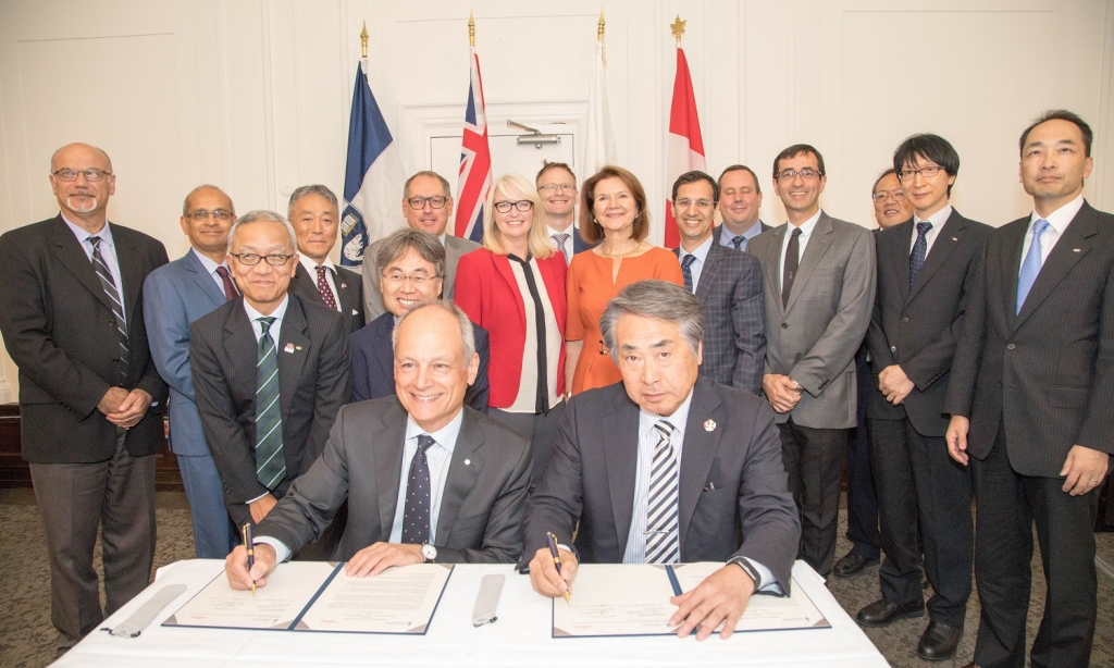 U of T attracts Fujitsu Laboratories R&D centre to Toronto