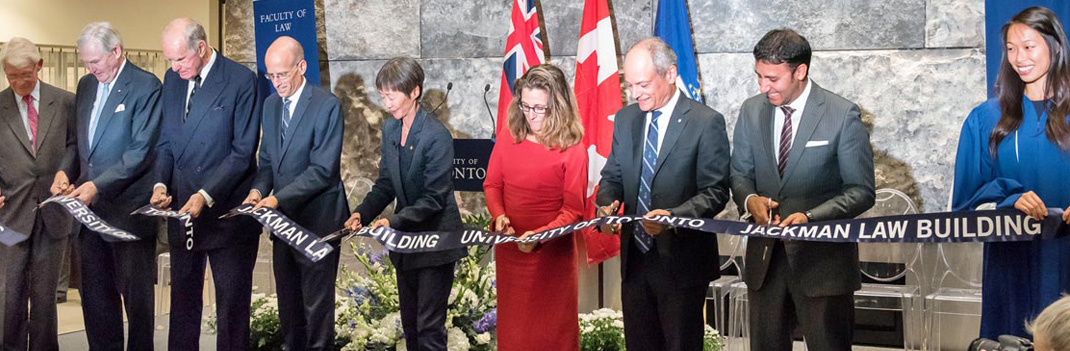 Jackman Law Building officially opens