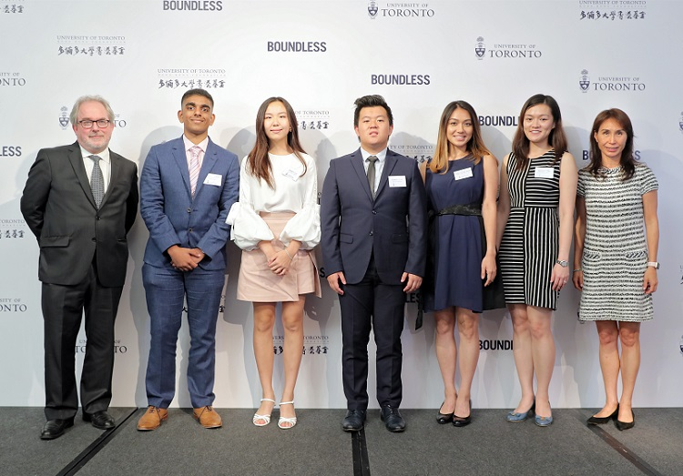 """New """"HK Match"""" campaign to help outstanding Hong Kong students attend the University of Toronto"""