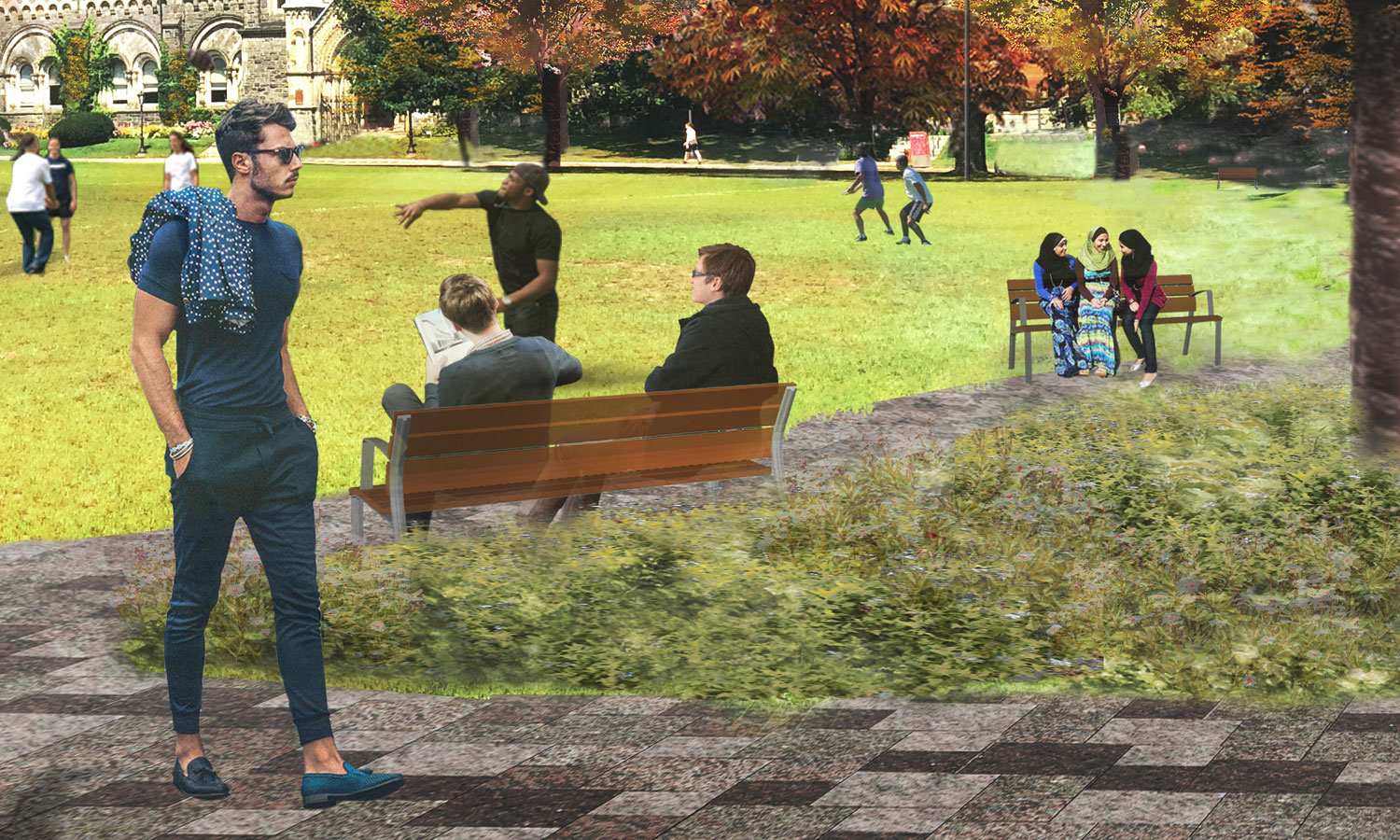 The Landmark Project - Commemorative Bench