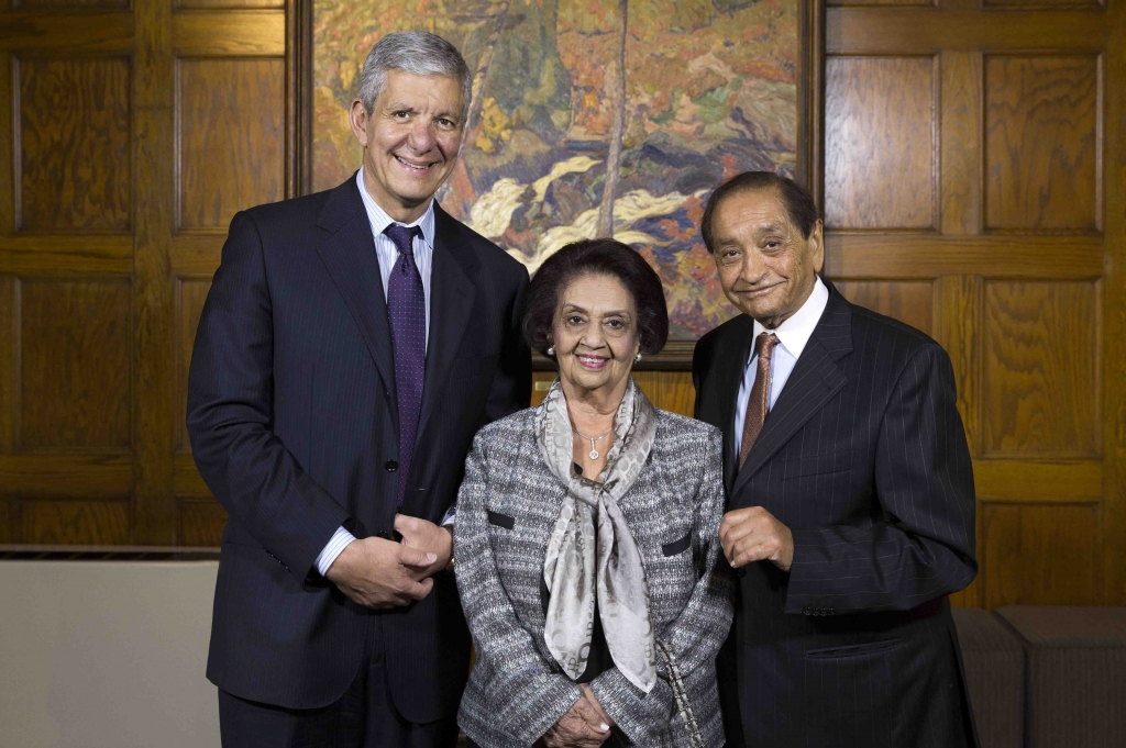 Rose Patten is installed as UofT's 34th chancellor