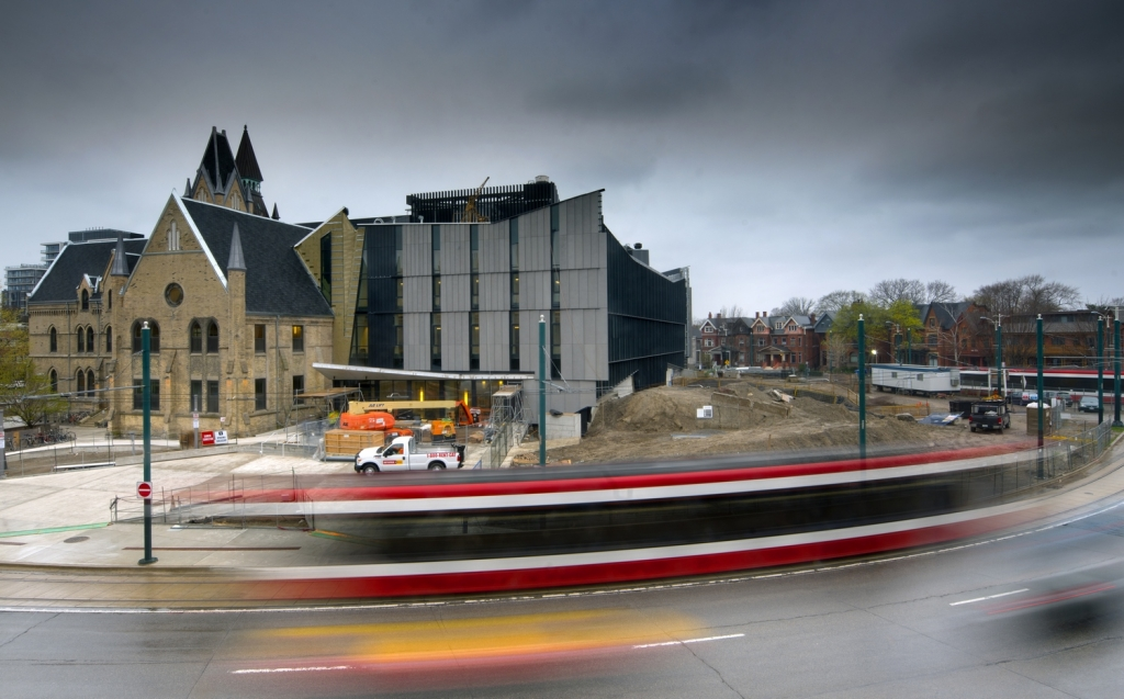 One Spadina merges the past with thefuture