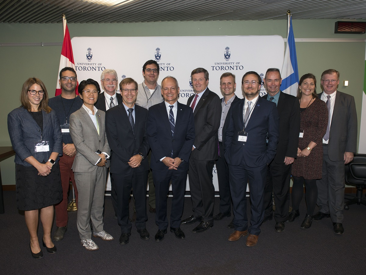 U of T, City of Toronto sign memorandum to support collaboration