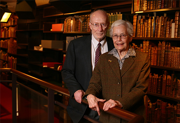 Supporting Robarts Library: friends honour Russell Morrison's philanthropic leadership