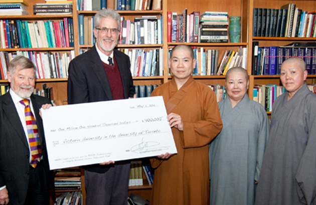Gift creates first professorship in Chinese Buddhist Studies at Victoria University