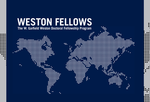 Inaugural Weston Fellows announced