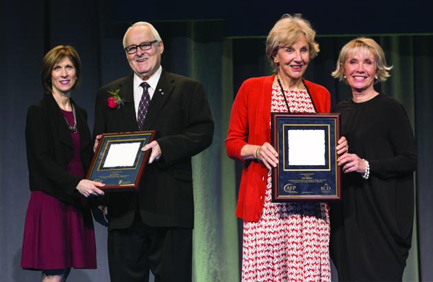 Marcel Desautels, Judy Matthews AFP award recipients this year