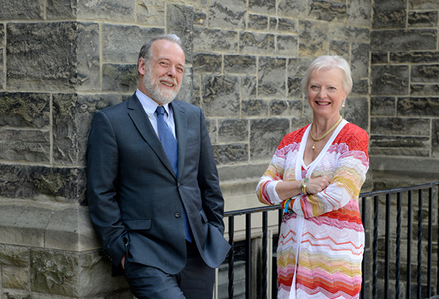 Writer and artist Anne Steacy makes major donation to Trinity College