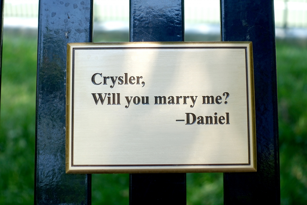Marriage_proposal_plack_on_U_of_T_bench
