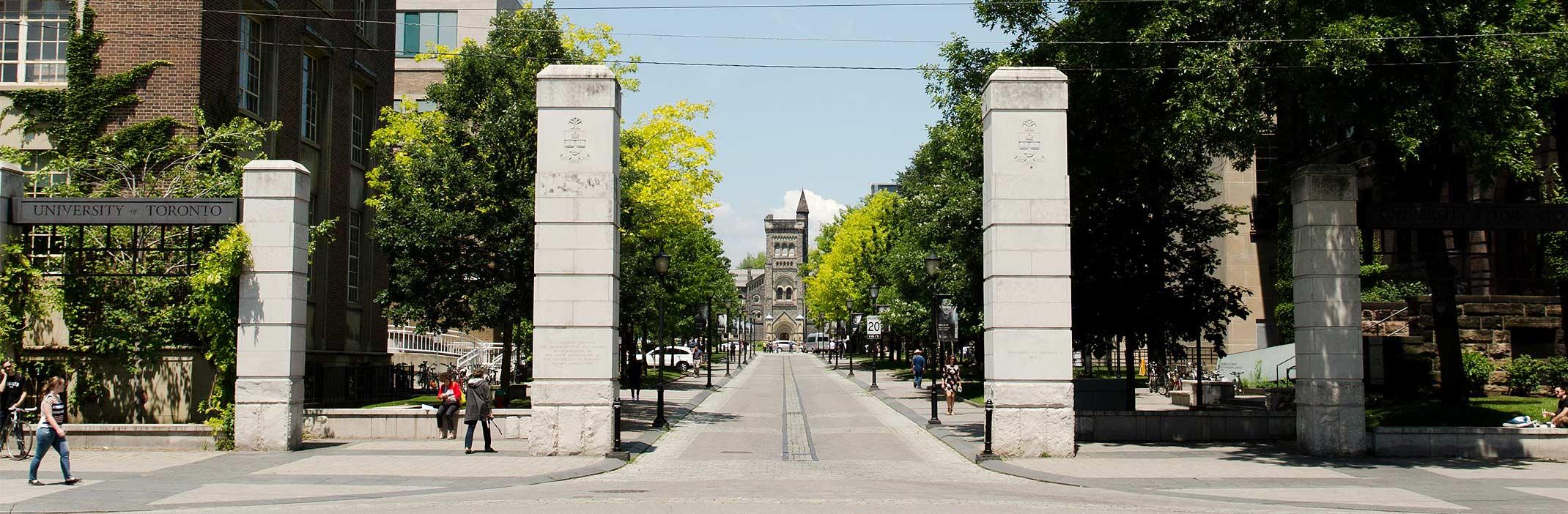 U of T Campus south gate