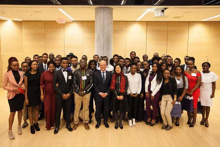 U of T celebrates fifth class of Mastercard Foundation Scholars