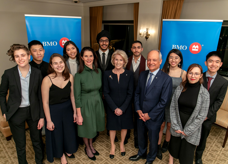 U of T and BMO Financial Group celebrate more than 20 years of supporting emerging Canadian leaders