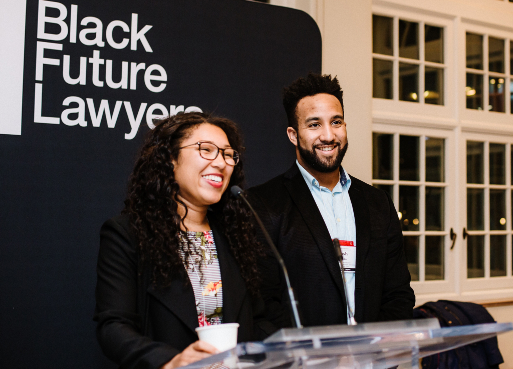 A newly formed partnership of leading Canadian law firms commits  $1.75 million to the groundbreaking Black Future Lawyers program