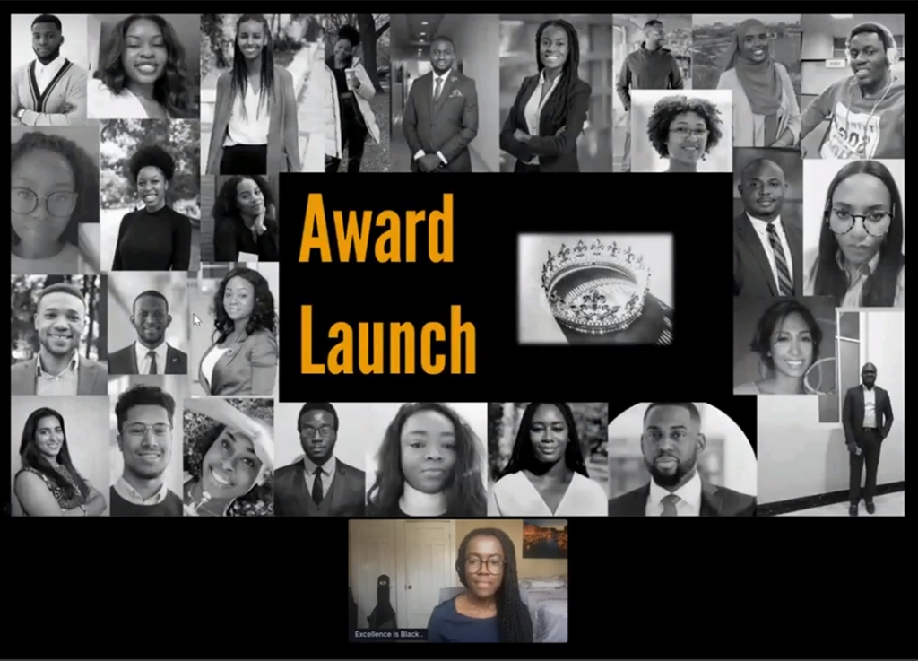 Students launch the Excellence is Black award fund to support Black graduate students