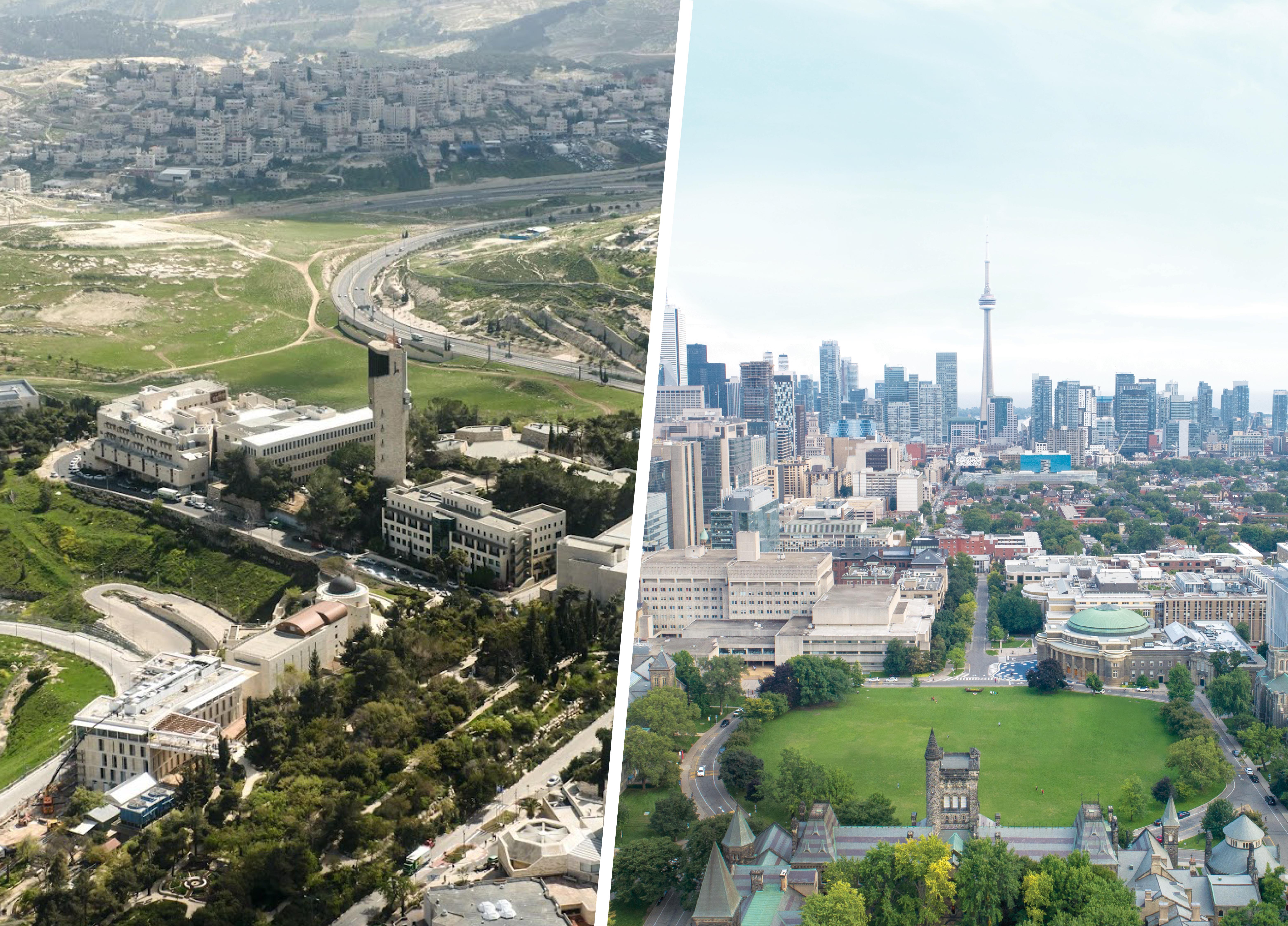 U of T and Hebrew University of Jerusalem launch groundbreaking alliance
