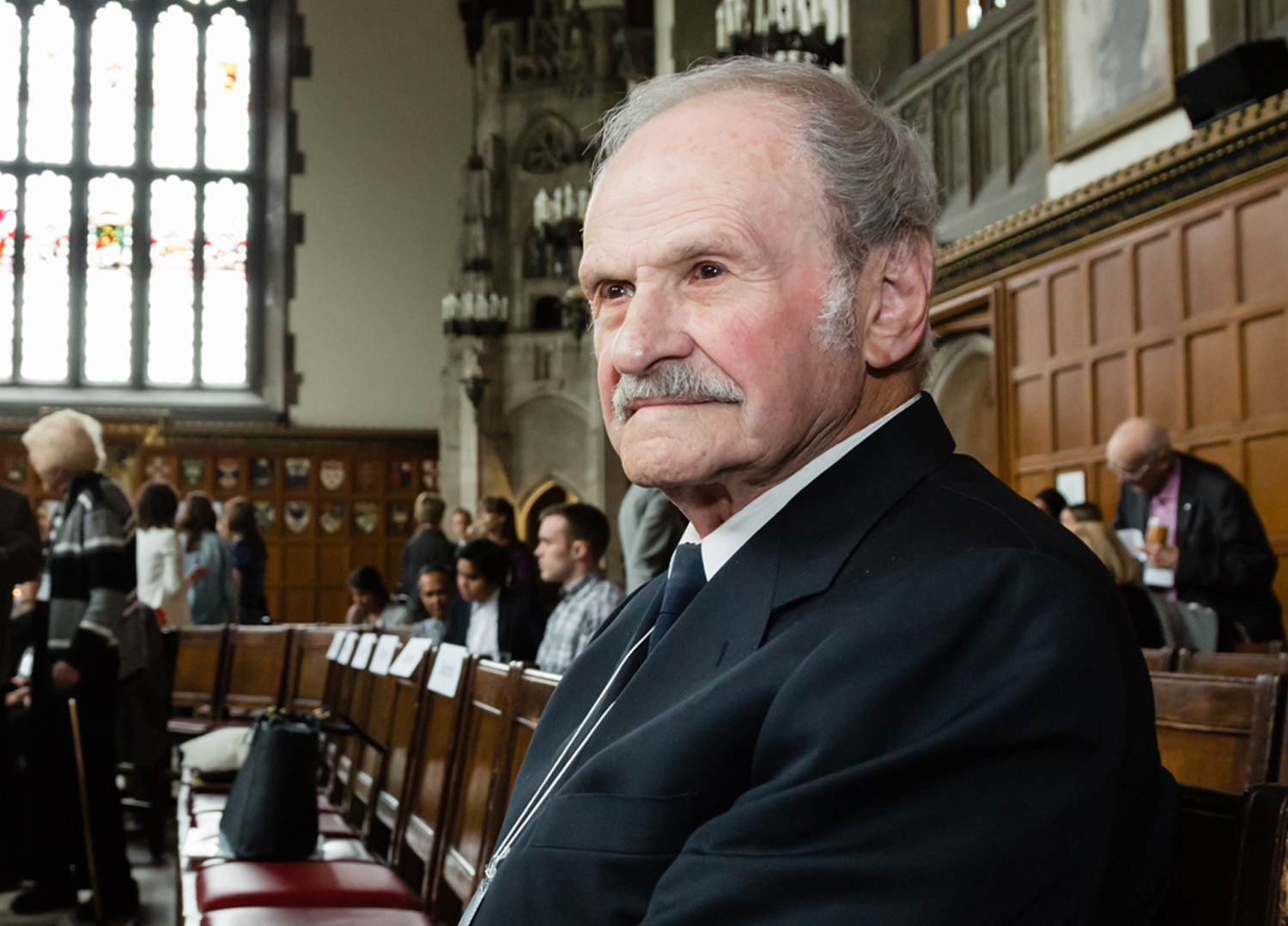 James Hosinec has a dream: to fund 1,000scholarships for UofT students before his 100thbirthday