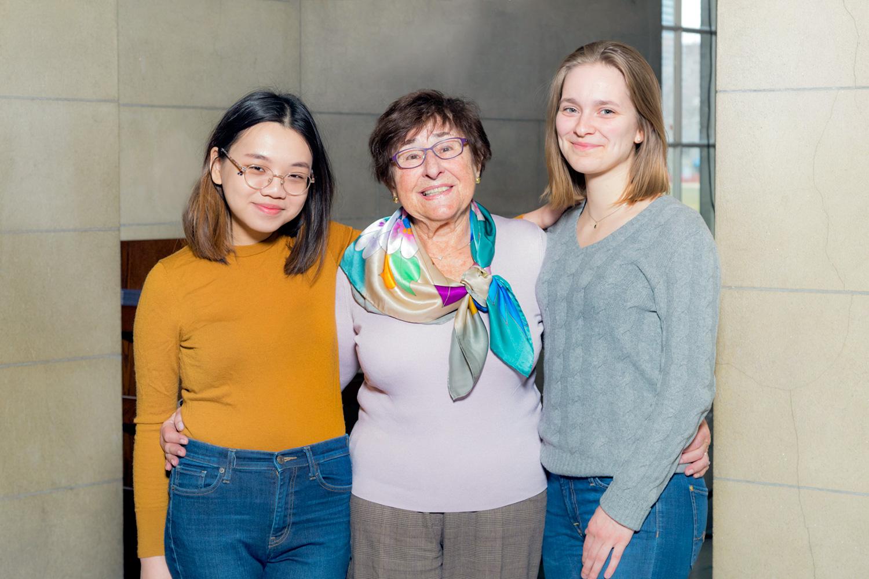 Judith Schurek establishes two Pearson Scholarships