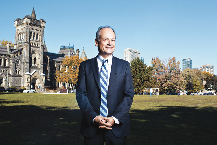 University of Toronto President Meric Gertler appointed to second term