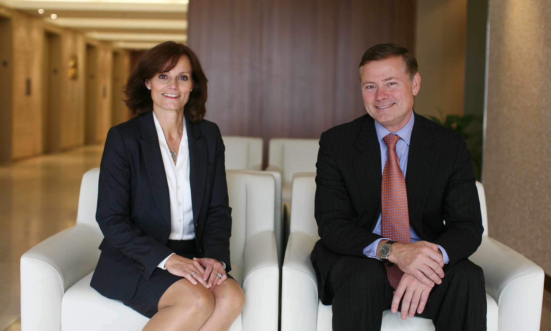 Blake Goldring & Judy Goldring