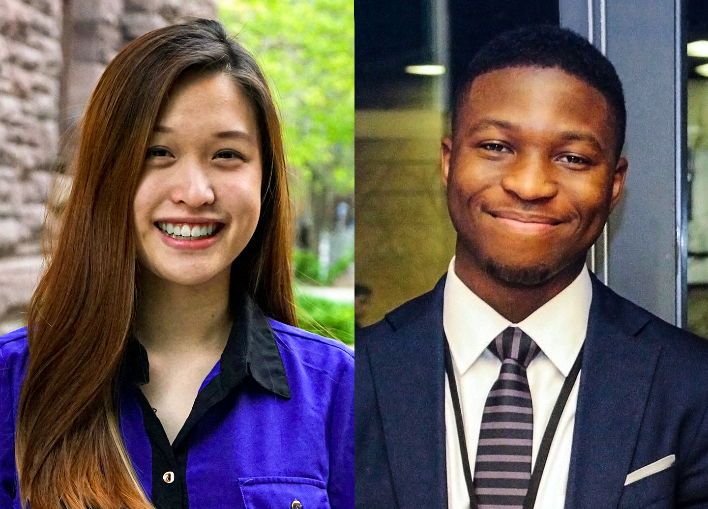 Combining perspectives from different worlds, Judson Asiruwa and Jamie Lee built an award-winning food waste app