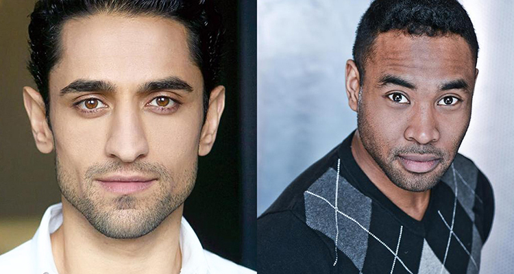 Portraits of Ali Momen and Kevin Vidal looking serious.
