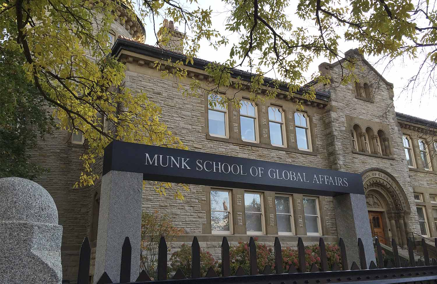 Fifth anniversary of the Munk School of Global Affairs
