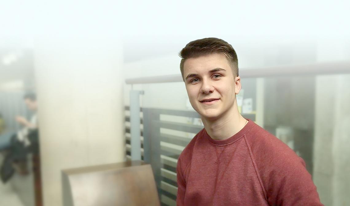 Daniel McInnis smiling.